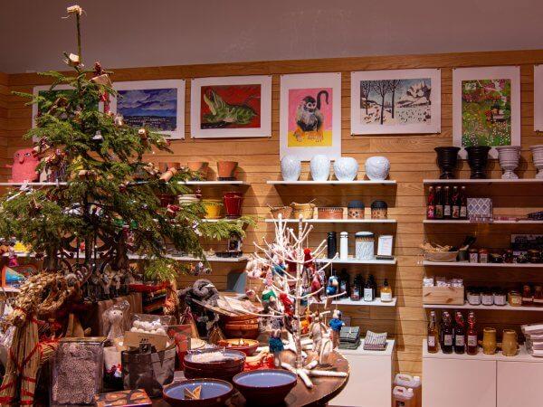 Välkommen till museets julshop!