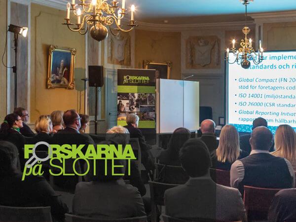 Forskarna på slottet på turné i Hälsingland