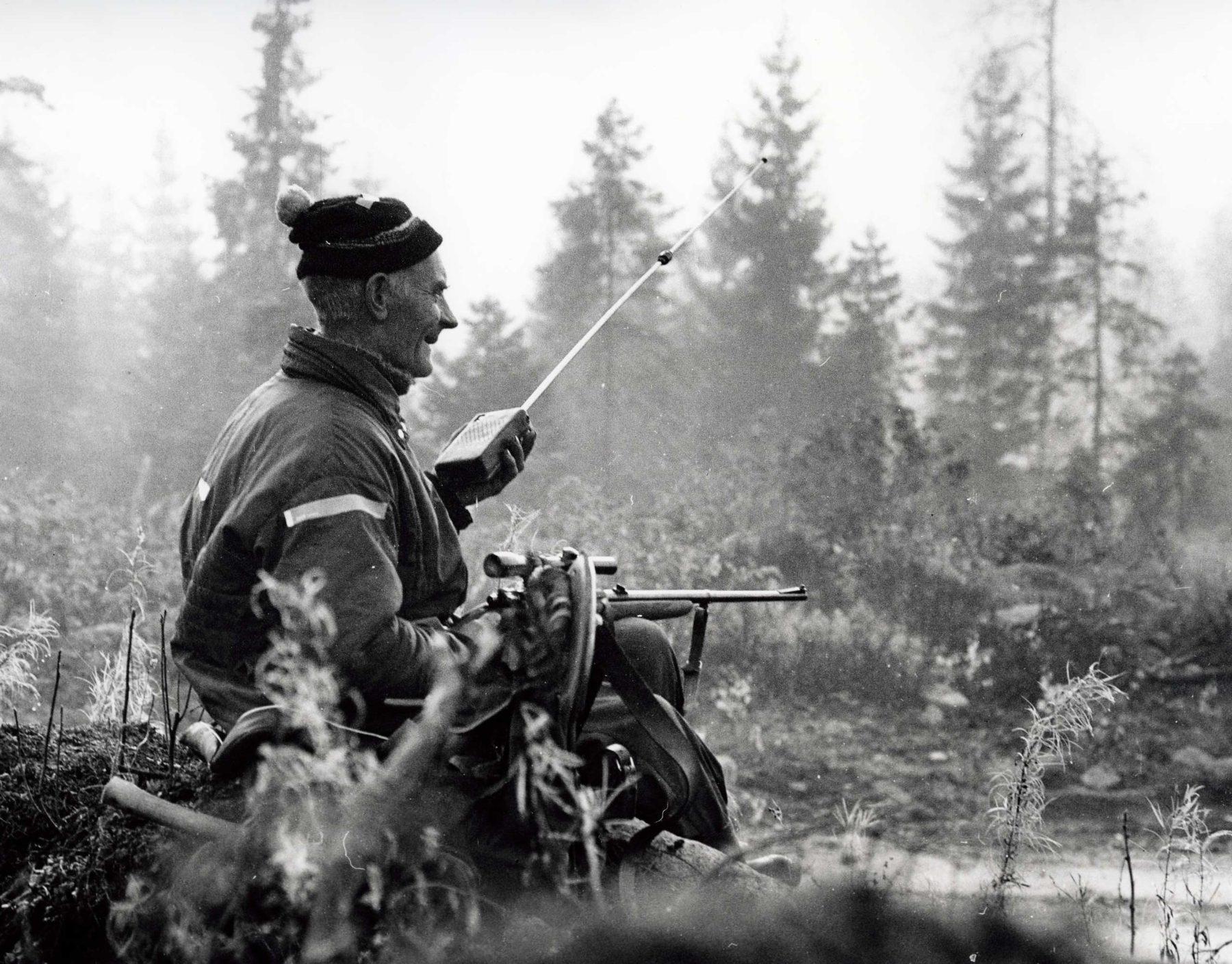 Man på jaktpass