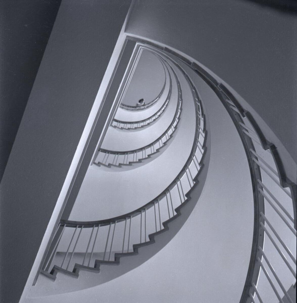 En spiraltrappa