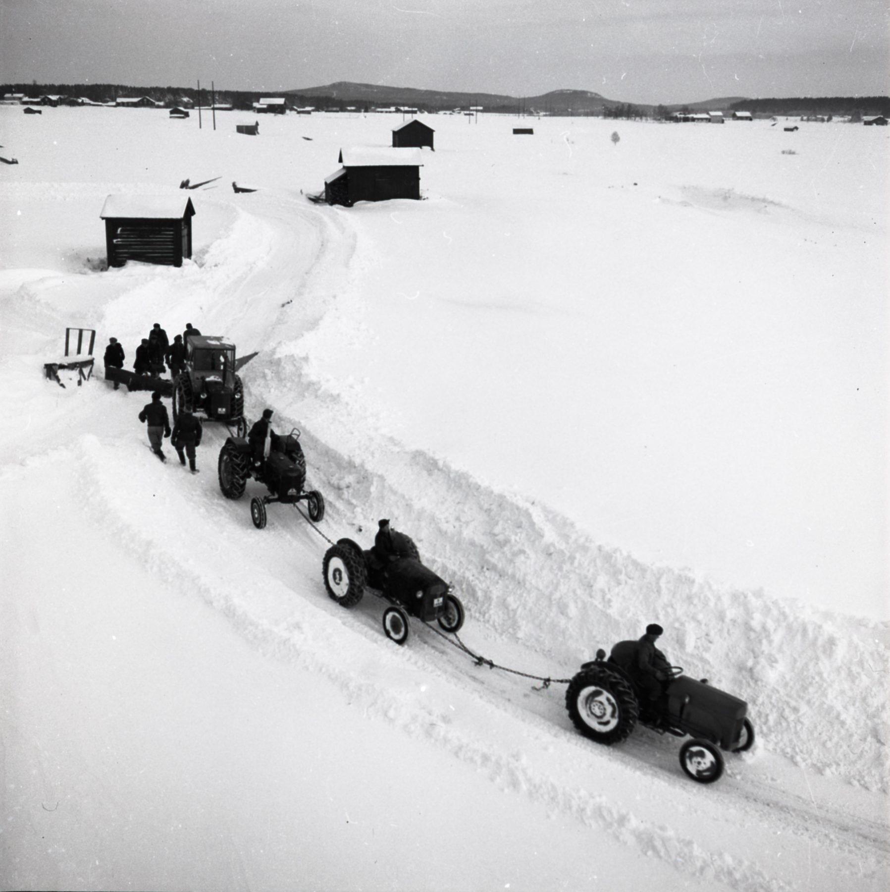 Sammankopplade traktorer