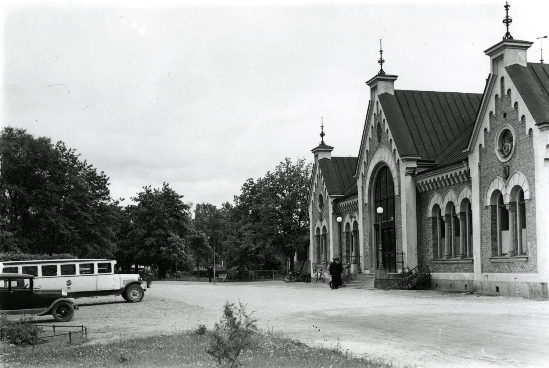 Hudiksvalls järnvägsstation