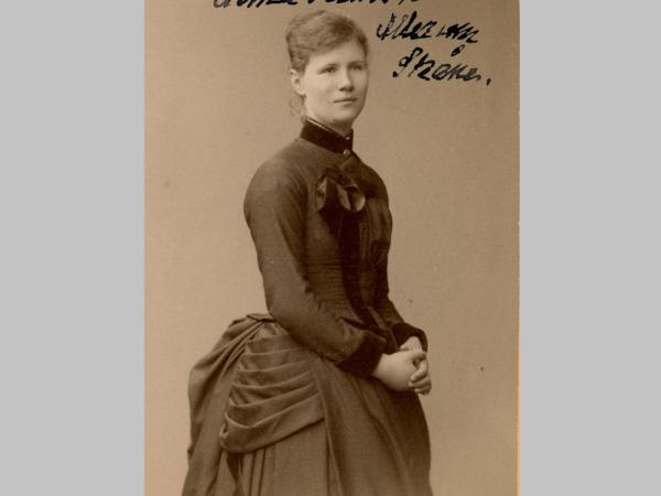 Alma Persson och rösträtten