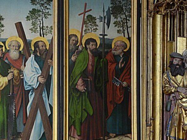 Expertmöte och visning av altarskåpet Bollnäs kyrka