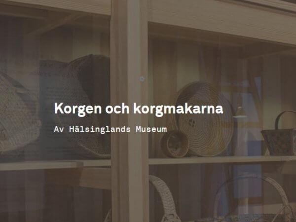Korgen – nu på DigitaltMuseum