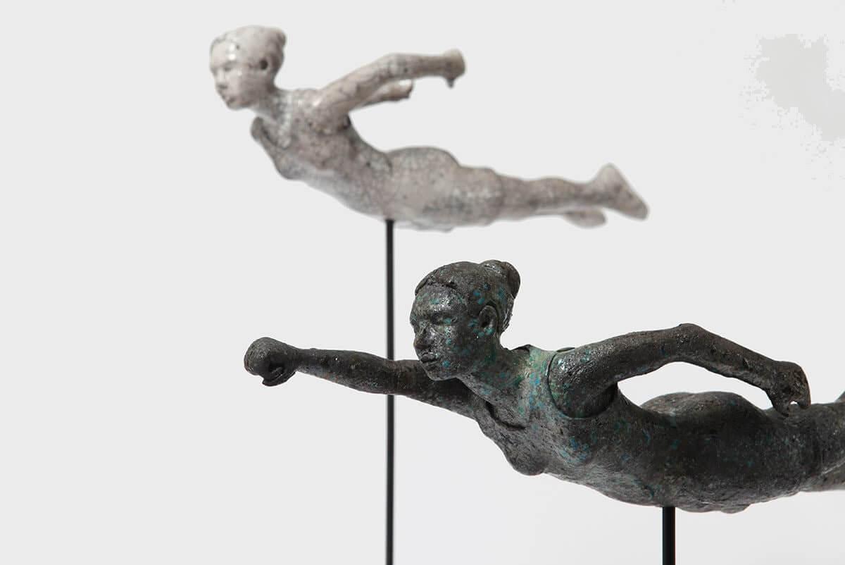 Två skulpturer