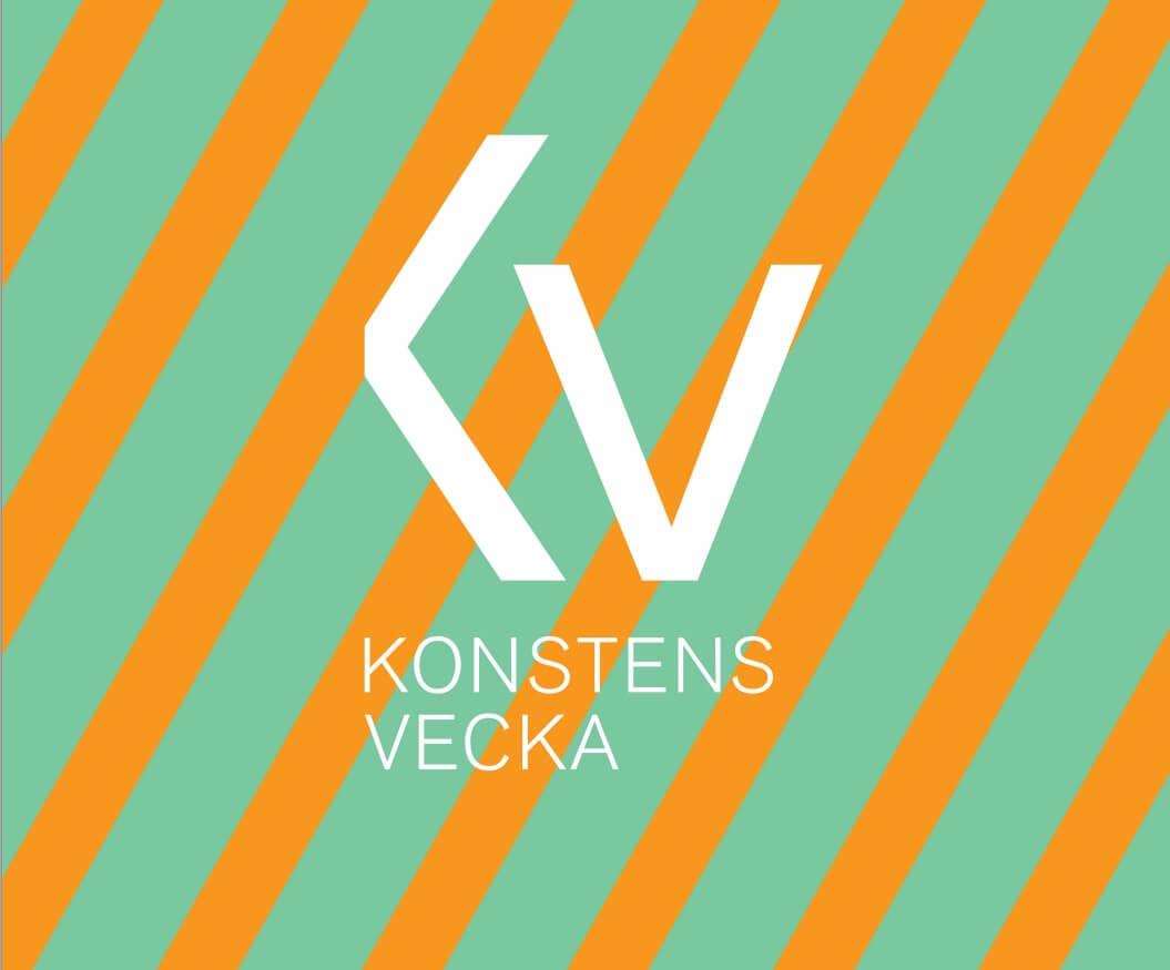 Konstens veckas logotyp
