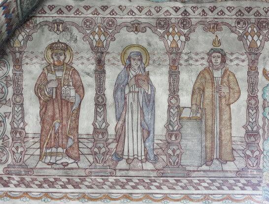 Motiv- och mönsterskatter i Ljusdals kyrka