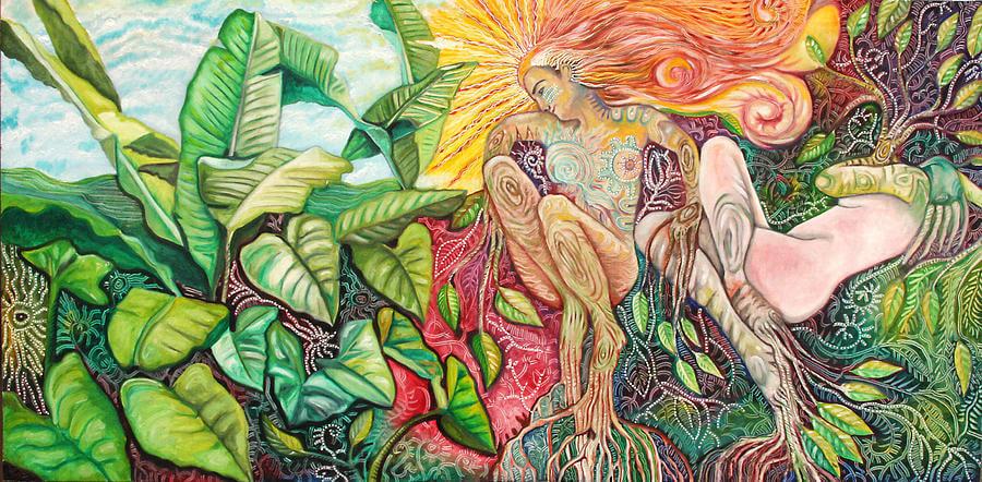 Målning av Oscar Martinez.