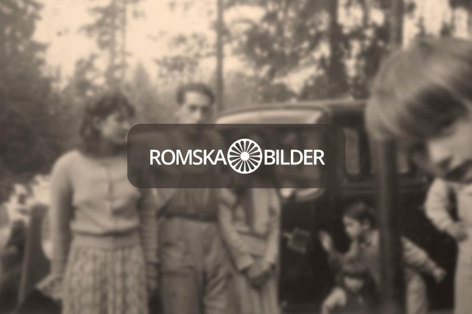 Projektet Romska bilders logotyp